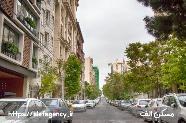 زمین های سعادت آباد بهشتی خوش آب و هوا با آپارتمان های لوکس و کوچه و خیابان های وسیع دور از آلودگی و ترافیک تهران است