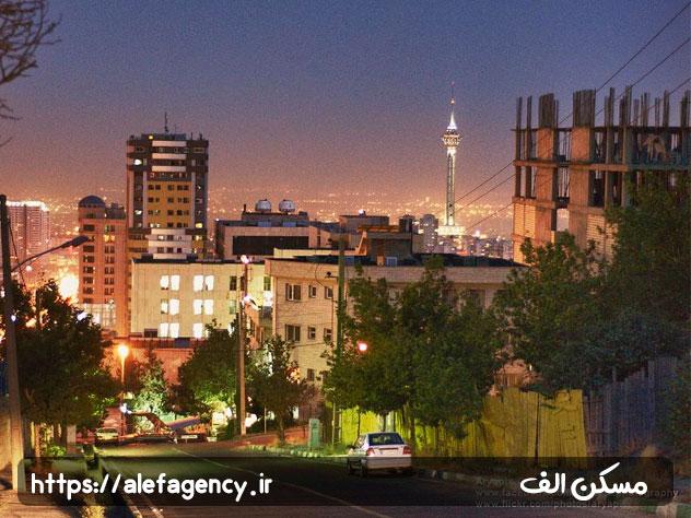 آپارتمان های لوکس سعادت آباد شاخص ترین علت شهرت